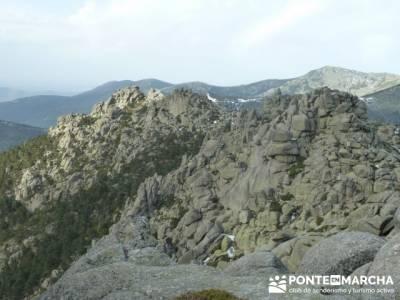 Ruta por el valle de Fuenfría, Siete Picos; rutas por madrid y alrededores; rutas y senderos